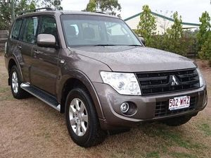 2013 Mitsubishi Pajero NW MY13 GLX-R LWB (4x4) Brown 5 Speed Auto Sports Mode Wagon