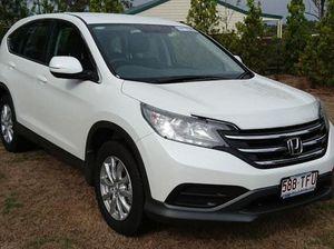 2013 Honda CR-V 30 MY14 VTi (4x2) White 5 Speed Automatic Wagon