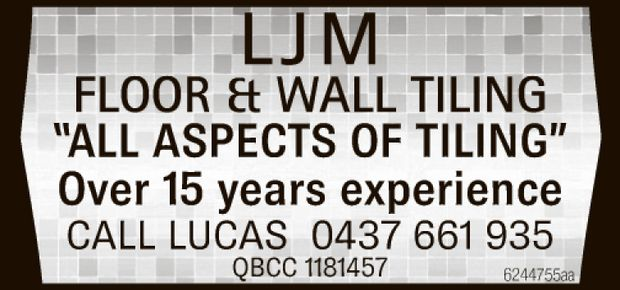"""ALL ASPECTS OF TILING"" 