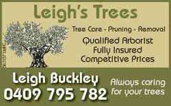 Tree Care - Pruning - Removal Qualified Arborist Fully Insured Competitive Prices Leigh B...
