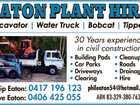EATON PLANT HIRE