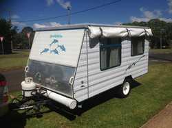 12FT Pop Top,  rear door,  4 burner stove & oven,  3 way 90ltr fridge, ...