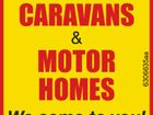 $$ Cash $$ For Caravans & Motorhomes