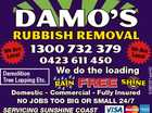 DAMO'S RUBBISH REMOVAL