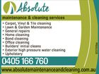 Absolute Maintenance & Cleaning Services