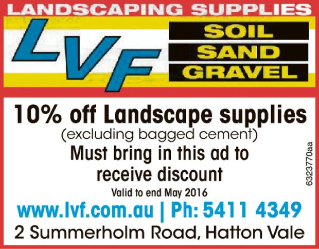 Soil, Sand, Gravel
