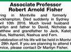 Associate Professor Robert Arnold Fisher