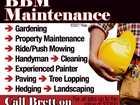 BBM Maintenance
