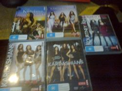 DVD set, watched twice. As new