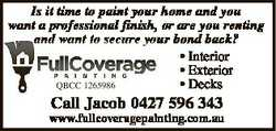 Is it time to paint your home and you want a professional finish, or are you renting and want to sec...