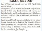 BAKER, Jason Dale
