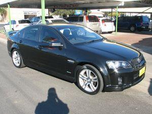 2010 Holden Commodore VE II SV6 Black 6 Speed Automatic Sedan