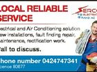 Electrical and Air Conditioning solution