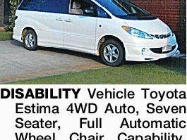 Toyota Estima 4WD Auto