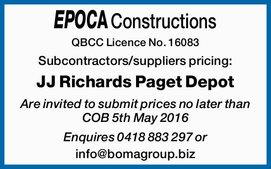 QBCC Licence No. 16083