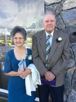 Congratulations Wally and Hazel Schilling on your 60th Wedding Anniversary on 28 April. Love and Bes...