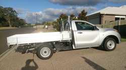 2.2 Turbo Diesel, manual, single cab, 3000kms, 2.5 year factory  warranty, 6 month rego, near new, i...