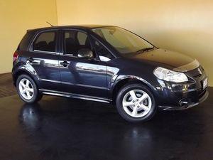 2008 Suzuki SX4 GY S AWD Black 4 Speed Automatic Hatchback