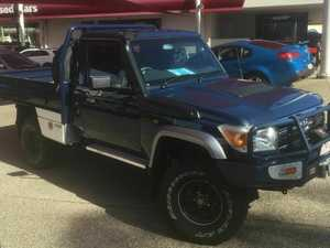 2010 Toyota Landcruiser GXL Blue Manual Utility
