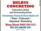 Hulbys Concreting