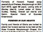 """ZIETH: Gloria Estelle Nee """"Moon"""" Formerly of Howard. Passed away peacefully at Chelsea, Maryborough on 30th April 2016, aged 89 years. Loving wife of Stanley (dec'd). Loved sister of Victor, Dudley, Hedley, Grevell (all dec'd) and Kelvin. Special friend of Quaneta Greenwood. FOREVER IN OUR HEARTS Family and ..."""