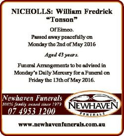 "NICHOLLS: William Fredrick ""Tonson"" Of Eimeo. Passed away peacefully on Monday the 2nd of..."