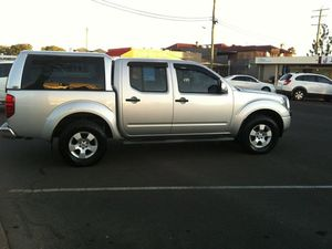 2008 Nissan Navara D40 ST-X Silver 5 Speed Automatic Utility