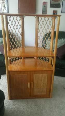 2 Cane hutches in good condition solid construction.