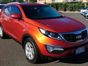 2013 Kia Sportage SL MY13 SLi(AWD) Orange 6 Speed Automatic Wagon