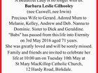 GILHOOLEY, Barbara Leslie