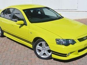 2003 Ford Falcon BA XR6 Turbo Yellow 6 Speed Steptronic Sedan