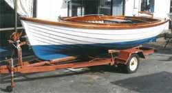 """BILGE CLINKER """"Putt Putt"""" built in Frankston Vic by T.S. Tisson in the 1950s, Aroona ke..."""