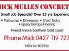 Mick Mullen Concrete