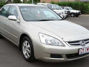 2005 Honda Accord 40 V6 Gold 5 Speed Automatic Sedan