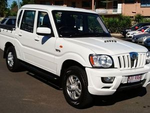 2014 Mahindra Pik-Up S5 11 Upgrade (4x4) White 5 Speed Manual Dual Cab Utility
