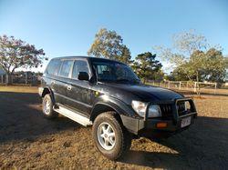 TOYOTO Prado, 1997,  293,200ks,  8 seat,  5spd,  3.4L petrol,  t/b,...