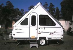 2004 Avan Aliner. Registered 11/16, double & single bed, annex and full cover for van. Top co...