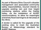 Banana Shire Council Callide Valley Flood Gauge Network Upgrade