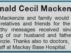 Donald Cecil Mackenzie