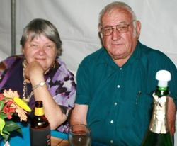 Congratulations to Matt and Bev Kruger on their Golden Wedding Anniversary 14.05.16. Love from Leian...