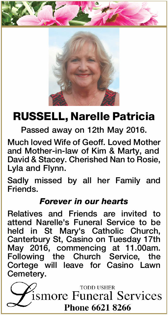 Passed away on 12th May 2016.