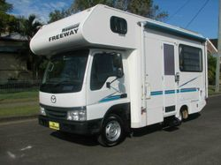 Fantastic size motorhome, fits into a normal size parking spot. Car licence. Economical diesel engin...