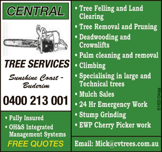 Sunshine Coast - Buderim    Fully Insured H & S Intergrated  FREE QUOTES  Tr...