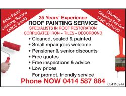 Specialists in Roof Restoration