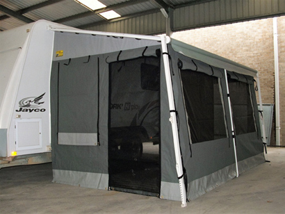 Custom made in canvas vinyl & mesh.