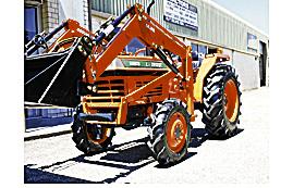 Kubota Tractor & Slasher Package.    32HP Kubota 4 in 1 FEL.  Power str,4WD,  ...