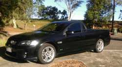 Regretful sale of black SV6 ute. Manual transmission, one owner. Near new tires. Mainly Highway driv...