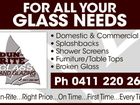 For all your glass needs!