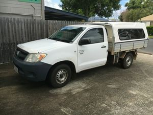 2006 Toyota Hilux TGN16R Workmate White 5 Speed Manual