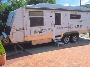 23' SEMI OFF ROAD TRAVELLER SENSATION CARAVAN